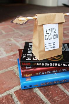 Crafty The Hunger Games gift bags