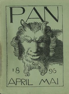 Named for the Greek god of pastoral reverie, Pan combined original prints in a variety of media with incendiary works of poetry, theater and philosophy. Together with Jugend and Simplicissimus, both of which emerged in Munich in 1896, the journal did much to define German Jugendstil sensibilities.