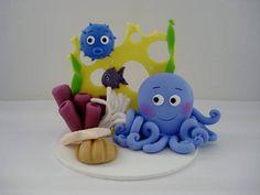 Centro de mesa Fundo do Mar , ideal pra decorar festas infantis e presentiar convidados.  Quantidade mínima de 5 unidades R$ 20,00