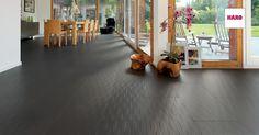 Das Verlegen vom Holzboden CELENIO by HARO ist dank der drei Verlegesysteme leicht selbst gemacht. Ideal auch für Heimwerker.