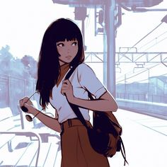Ilya Kuvshinov . Character Drawing Illustration
