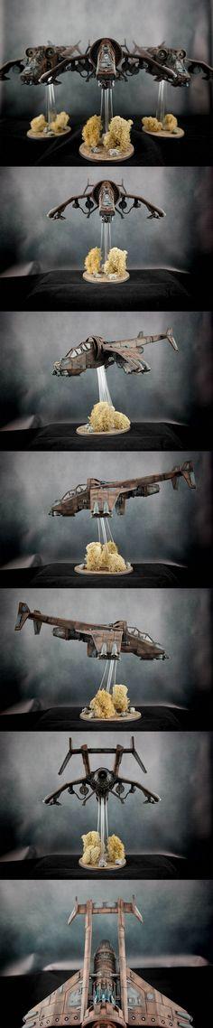 Forge World - Astra Militarum, Imperial Navy - Vulture  ||  Regiment: Lions of Leander VI  ||  Warhammer 40k
