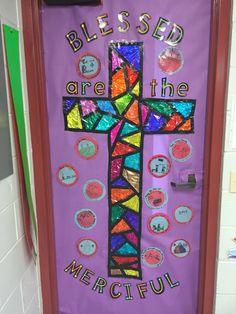 Our Year of Mercy door for Catholic Schools Week