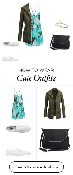 """""""Cute casual outfit"""" by shabirabirabwa on Polyvore featuring Billabong, Vans, Moda Luxe and BROOKE GREGSON"""
