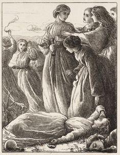 The Wise Virgins, Sir John Everett Millais