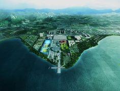 Rio de Janeiro 2016 Olympic Park Proposal by Mecanoo Architecten