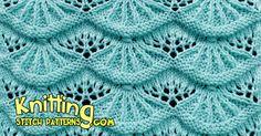 Alsacian Scallops | Pretty Lace Knitting