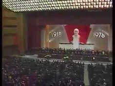 Была такая традиция, запивать Интернационал. 1978, Москва, 18 й съезд  В...