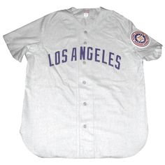 1da79b17c4a Los Angeles Angels (PCL) 1951 road jersey from Ebbets Field Flannels. Major  League