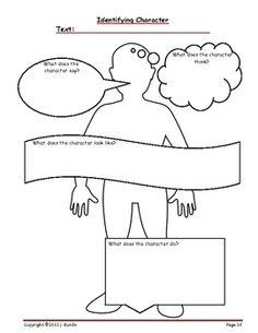 Middle School Matters Blog: Characterization FREEBIE