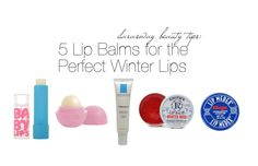 ilarasway beauty tips: My fav lip balms for the perfect winter lips <3