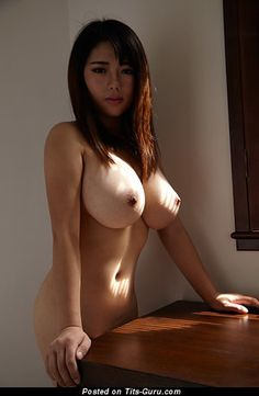 Sexy nude asian with big tits picture