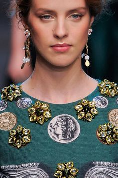 +++ Dolce & Gabbana + Spring / Summer 2014 + MFW + RTW +++ #DomenicoDolce #StefanoGabbana #money #AncientGoldCoins #ArchaeologicalExcursion #Columns #Greek #lace #crystals #crafted #luxury #SilkPetalAppliqué #SicilianCeramic #Sicilian #DolceGabbana #fashion #moda #verano2014 #fashionweek #Milano #mfw #ss2014 #spring2014 #rtw #summer2014 #primavera2014 #runway #SpringSummer2014  @Jenn L Souza & Gabbana @StefanoGabbana @Dolce_Domenico @ISAZAalejandro