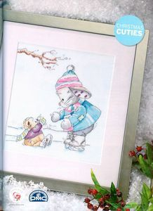 Somebunny to Love A Cold and Frosty Morning The World of Cross Stitching Saved