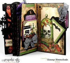 Rare Oddities Mini Album by Ginny #graphic45