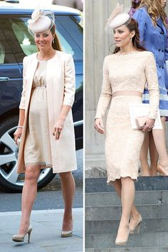 Why we're fascinated with Kate's fascinator. #royalbaby