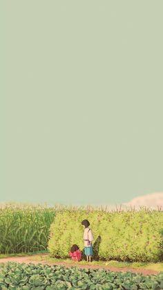 Studio ghibli,spritide away,hayao miyazaki Studio Ghibli Films, Art Studio Ghibli, Studio Art, Wallpaper Animé, Anime Scenery Wallpaper, Drawing Wallpaper, Trendy Wallpaper, Kawaii Wallpaper, Wallpaper Backgrounds