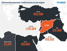 Most Syrian refugees are sheltering in neighbouring countries. They want to stay close to home http://rfg.ee/AQGSG