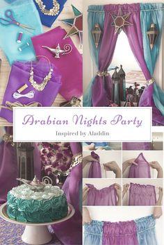 Tips to plan an Aladdin theme party.