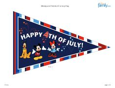 http://skgaleana.com/free-4th-of-july-disney-printables-and-decorations/