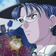 Tuxedo Kamen by riccardobacci on DeviantArt Arte Sailor Moon, Sailor Moon Fan Art, Sailor Chibi Moon, Sailor Moons, Sailor Scouts, Neo Queen Serenity, Princess Serenity, Anime Manga, Anime Art