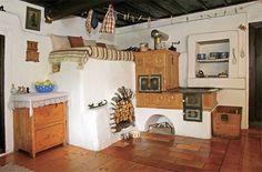. Stair Shelves, Design Case, Modern Materials, Vintage Kitchen, Interior Architecture, Stove, House Plans, Floor Plans, Furniture