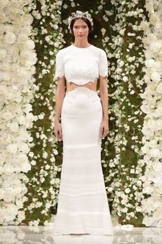 Pin for Later: Attention, Brides! The 7 Biggest Wedding Dress Trends For Fall 2015  Reem Acra Fall 2015