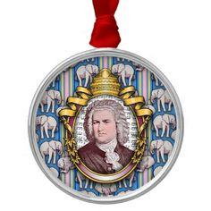 Johann Sebastian BACH Christmas Ornament