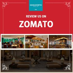 Your reviews and suggestions on Zomato, will help us provide our guests with authentic and impeccable service at all times. #Zomato #CustomerReview #KenilworthHotel #Restaurant #Resort #Goa