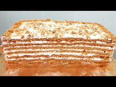 Tort,,Medovic caramelizat,, /Торт,,Медовик карамельный,,Honey cake caramel - YouTube Diet Recipes, Caramel, Deserts, Bread, Cake, Youtube, Sticky Toffee, Candy, Brot
