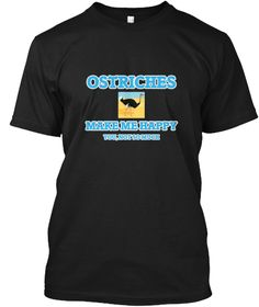 Ostriches Make Me Happy Black T-Shirt Front - This is the perfect gift for someone who loves Ostrich. Thank you for visiting my page (Related terms: Ostriches Make Me Happy,Love Ostriches,ostrich,flightless,bird,animals,ostrich,ostrich boots,ostrich #Ostrich, #Ostrichshirts...)