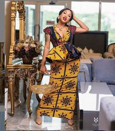 presents current fashion trends of 30 latest ankara skirt and blouse styles for Ladies! To get the best out of African fashion styles, you need p. Ankara Skirt And Blouse, Ankara Dress Styles, Latest Ankara Styles, Latest African Fashion Dresses, African Print Dresses, African Print Fashion, Blouse Styles, African Clothes, Ankara Fashion