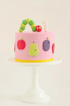 Hungry Caterpillar by Hello Naomi 💓 Idea for Mahli's 1st Bday