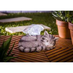 Evergreen Enterprises Solar Rest in Peace Pet Statue - Set of 2 - 84G262