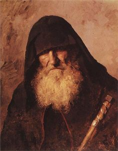 Palestine monk, 1886  Vasily Polenov