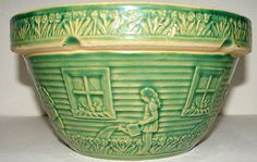 Green majolica..my favorite bowl of all time
