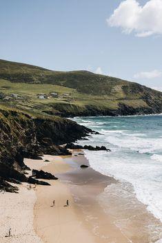 irlande-peninsule-de-dingle-dunmore-head-hellotravelersblog Destinations, Ireland, Around The Worlds, Articles, Beach, Water, Photos, Travel, Outdoor