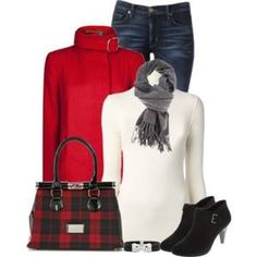 """Different purse and a pea coat. """"Untitled by denise-schmeltzer Fall Winter Outfits, Autumn Winter Fashion, Winter Wear, Winter Style, Cute Fashion, Fashion Outfits, Fashion Ideas, Women's Fashion, Fashion Tips"""