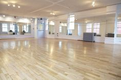 beautiful dance studio