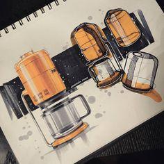 Design industrial machine inspiration ideas for 2019 Sketch Design, Ad Design, Design Concepts, Graphic Design, Design Model, Portfolio Design, Portfolio Layout, Portfolio Book, Coffee Machine Design