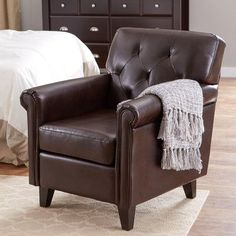 You'll love the Maude Tufted Leather Club Chair at Wayfair - Great Deals on all Furniture products with Free Shipping on most stuff, even the big stuff.