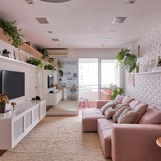 Here are some doable living room decor and interior design tips that will make your home cozy and comfortable for family and friends. Tiny Living Rooms, Condo Living, Home Living Room, Living Room Decor, Small Living, Modern Living, Living Spaces, Condo Interior, Interior Design