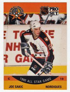 Joe Sakic # 375 - 1990-91 NHL Pro Set Hockey