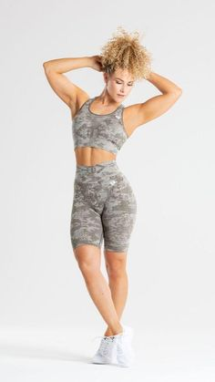 Cycling Shorts, Sports Nutrition, Amazing Women, Camo, Sportswear, Sporty, Fitness, Collection, Style