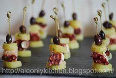 Ale only kitchen: Torrette di polpo con patate e olive taggiasche