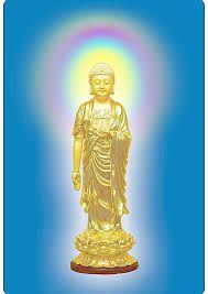 Image result for 阿彌陀佛 Buddha Figures, Amitabha Buddha, Buddhism, Statue Of Liberty, Gold, Image, Universe, Statue Of Liberty Facts, Statue Of Libery