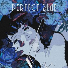 vaporwave blue Gustavo Perg on Instagra - vaporwave Blue Aesthetic, Aesthetic Anime, Anime Manga, Anime Art, Satoshi Kon, Blue Anime, Horror, Guache, Illusion Art