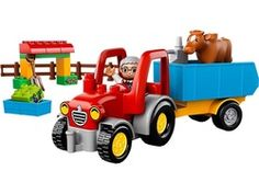LEGO Duplo Tractor & Trailer