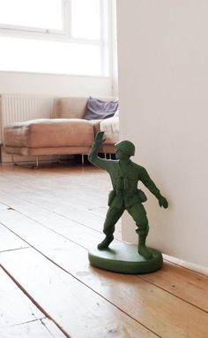 Toy Soldier Door Stop - might have to get this for that big kid I know.