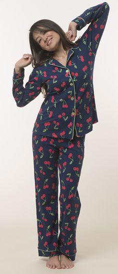 Bedhead Women's Cotton Classic Long-sleeve Pajama Set by BedHead ...